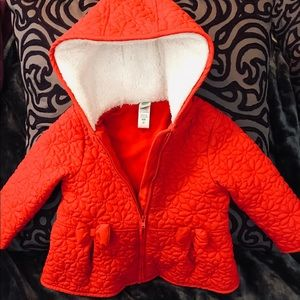 Adorable Girls Hooded Coat by Little Me